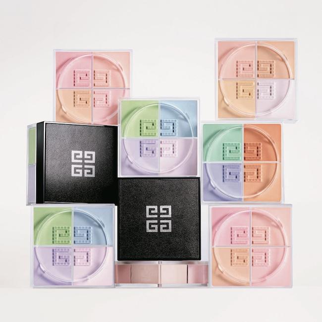 光と色のハーモニーで立体的な透明感を生み出す、フェイスパウダーの名品。プリズム・リーブル 全4色 各¥6,800(2月5日発売)/ Givenchy(パルファム ジバンシイ)
