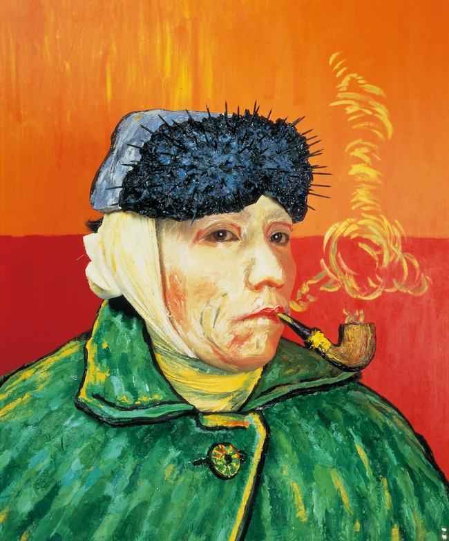 森村泰昌 『肖像(ゴッホ)』 (1985年) 高松市美術館