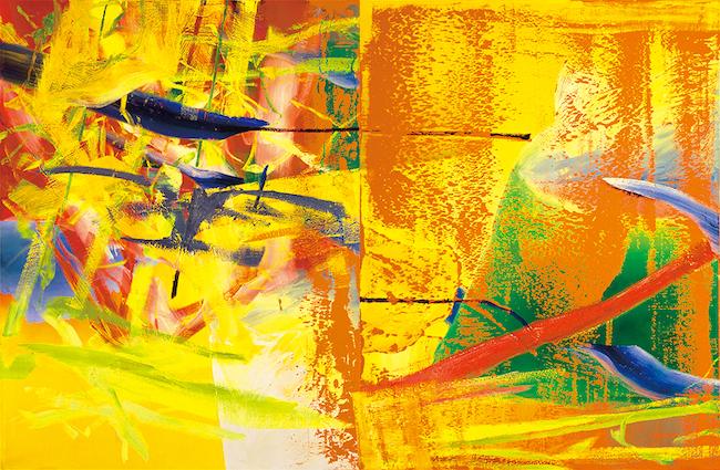 ゲルハルト・リヒター 《オランジェリー》 1982年 富山県美術館蔵 © Gerhard Richter 2020(16062020)