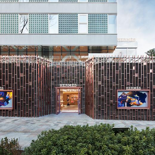 Hermès Omotesando store_facade_credits_Nacása & Partners Inc.EC