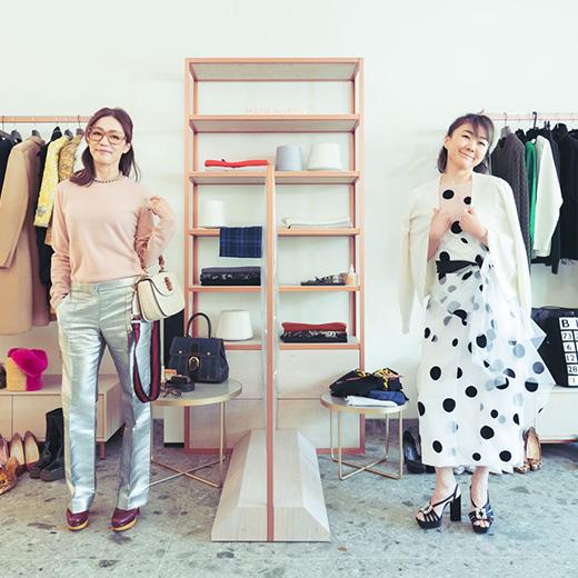 杏子ときっしーの「今日、何着んの?」番外編「Falconeri」のカシミヤニット