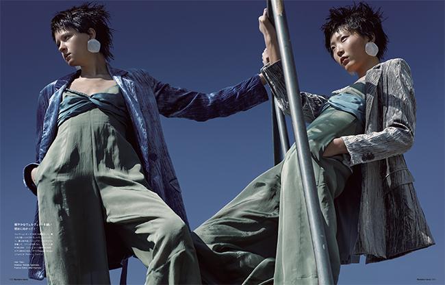 Photos : Takay Hair : Taku Makeup : Nobuko Maekawa Fashion Editor : Aika Kiyohara