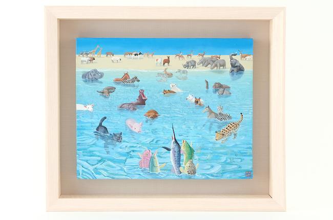 おかえり by 松本亮平 ¥80,000(+税)