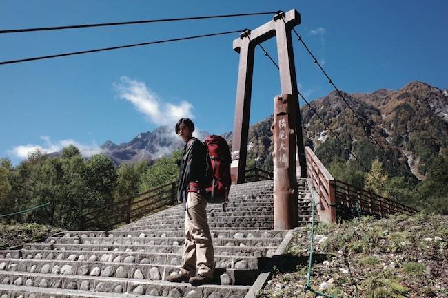 すぐに車で山に入ることができ、キャンプやトレッキングが気軽にできるのも長野県の魅力の一つ