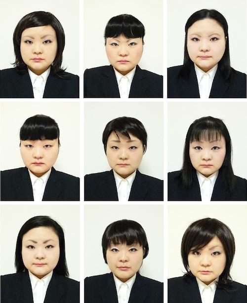 『Recruit』部分(2006年) 作家蔵 ⓒTomoko Sawada