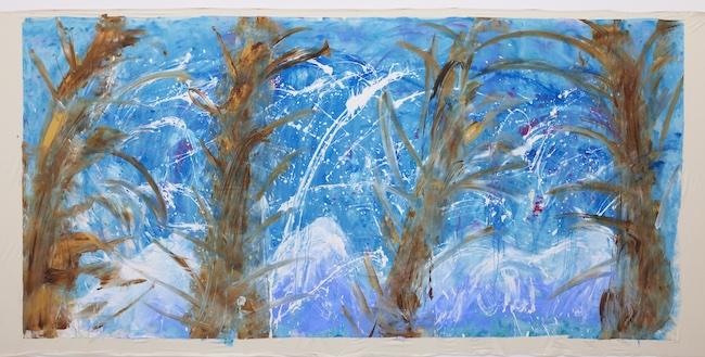 大宮エリー 『春を待つカムイミンタラ』 (2020年) ©︎Ellie Omiya ,courtesy of Tomio Koyama Gallery