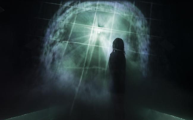 冷水エリアの作品 『円相に迷い込んで』(2021)
