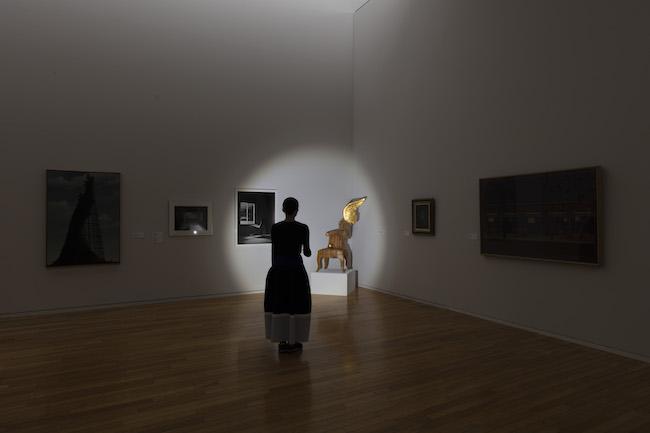 3階「ストーリーはいつも不完全......」展示風景写真 撮影:中川周