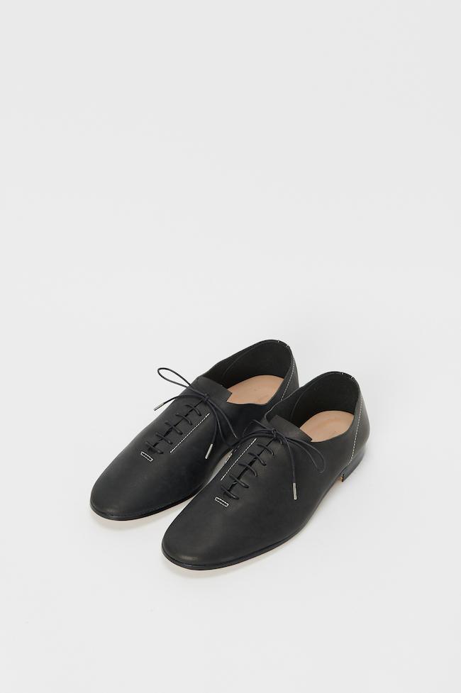 フットキャスト/// 6 ホール natural, black, black/whiteの3色展開 *PVCバッグ、クリームがセット ¥38,500