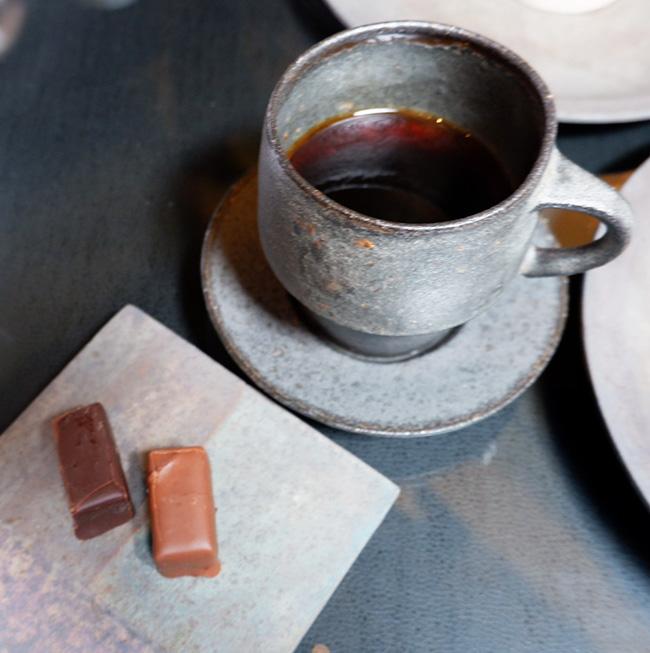 「ジャン-シャルル・ロシュー」のチョコレートもいただけるのがうれしい。