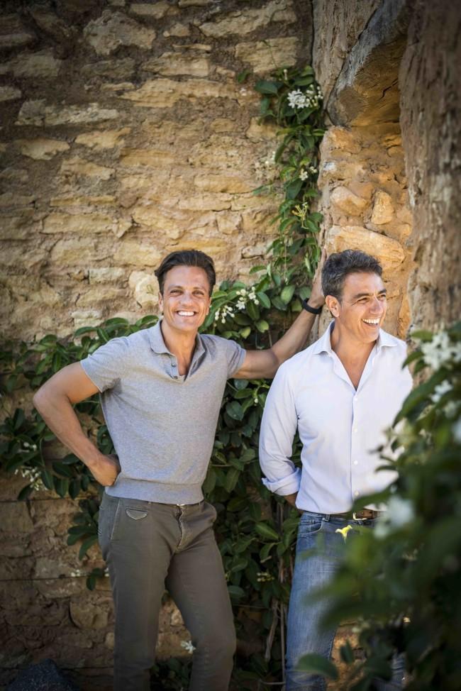 アルベルト(右)& ディエゴ(左)兄弟
