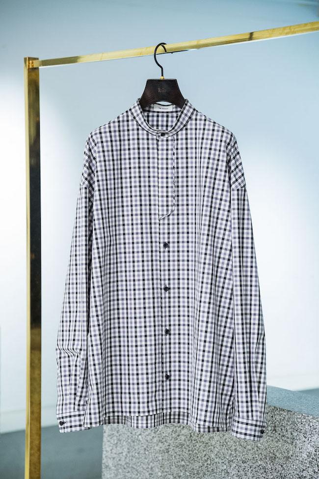 クラシックチェック柄プラケットシャツ¥33,000
