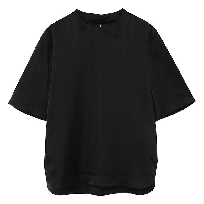 1 ベーシック シルク Tシャツ ¥47,300
