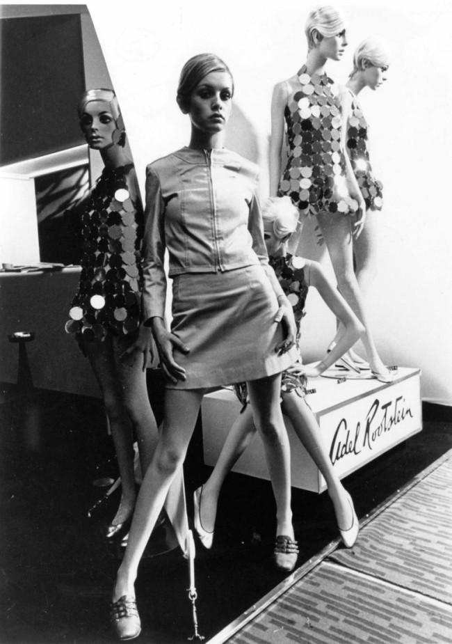 60年代中頃のツイッギー。 Photo by Shutterstock / Aflo