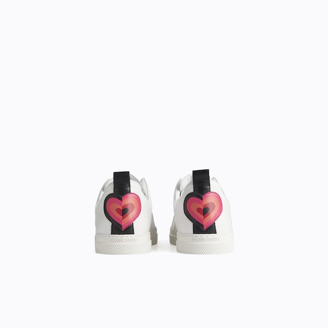 SLIDER Sneakers/White-red heart ¥71,500