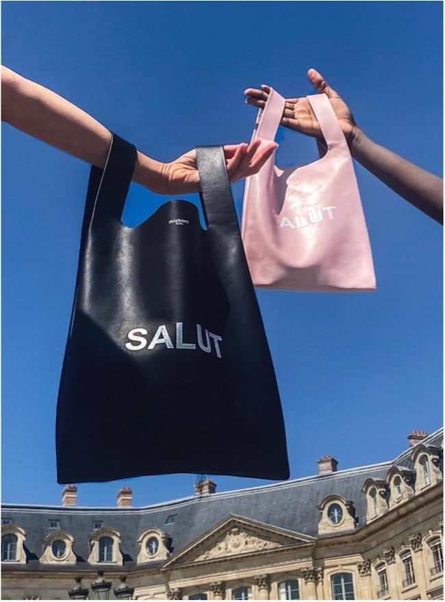 Shopper bag A4 ¥55,000(税込) B5 ¥46,200(税込)※Black、Red、Sapphire、Light Pinkの4色展開