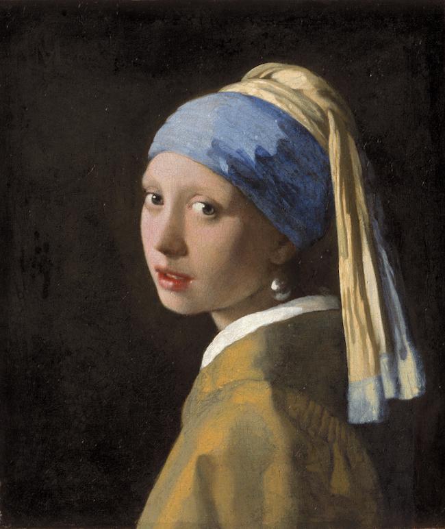 ヨハネス・フェルメール 『真珠の耳飾りの少女』 ©マウリッツハイス美術館