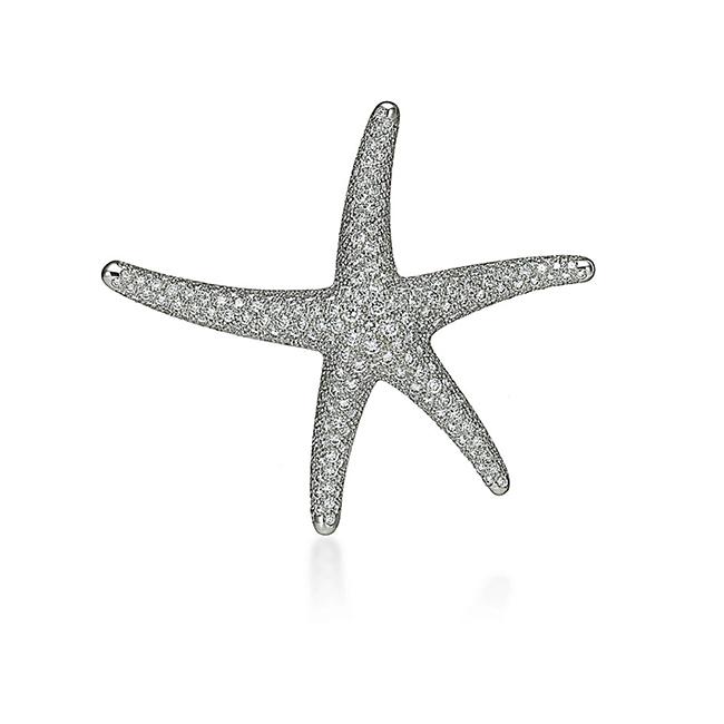エルサ・ペレッティ™ スターフィッシュ ダイヤモンド ブローチ¥4,070,000
