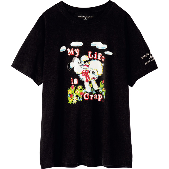 Magda ArcherとコラボしたシーププリントTシャツ ¥18,700/Marc Jacobs(マーク ジェイコブス カスタマーセンター 03-4335-1711)