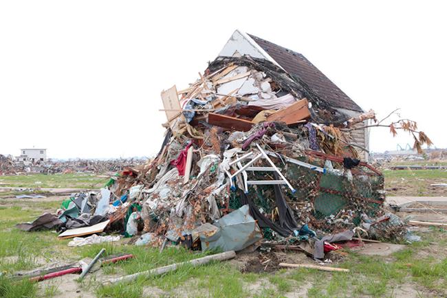5. 東日本大震災の被災地にて撮影。「ATOKATA」2011-18年