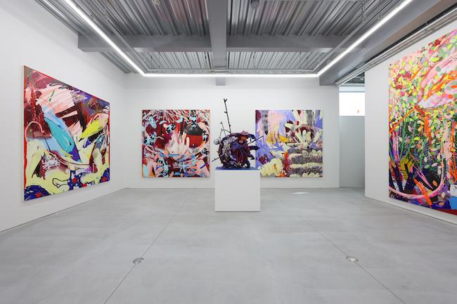 モリマサト 個展 「Lonsdaleite Year」、NANZUKA UNDERGROUND、東京、(2021年) ©Masato Mori Courtesy of NANZUKA