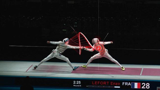 太田雄貴選手、Dentsu Lab Tokyoとの協働でフェンシングの剣先の軌道を可視化するプロジェクト。「Fencing Visualized Project」2013年~ H.I.H. Prince Takamado Trophy JAL Presents Fencing World Cup 2019「 ライゾマティクス_マルティプレックス展」[参考図版]