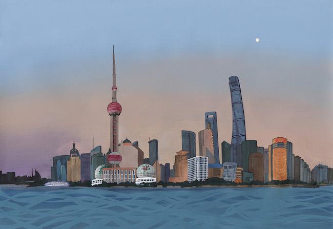 オトボン・ンカンガ 『上海』より。 © Louis Vuitton Malletier