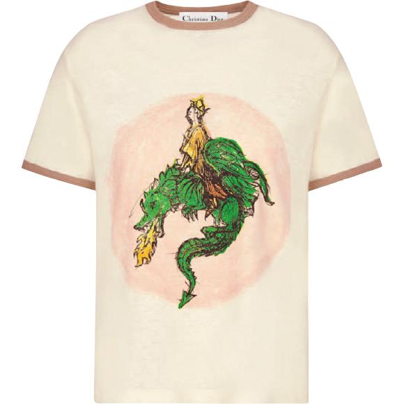 ドラゴンプリントTシャツ ¥126,500(参考価格)/Dior(クリスチャン ディオール  0120-02-1947)
