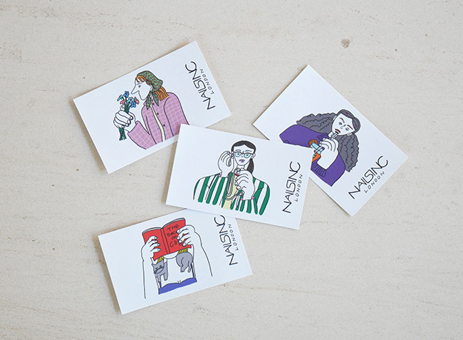 ネイルズ インク エクスプレス マニキュア チケット 4枚セット(4回分)¥8,800(税込)