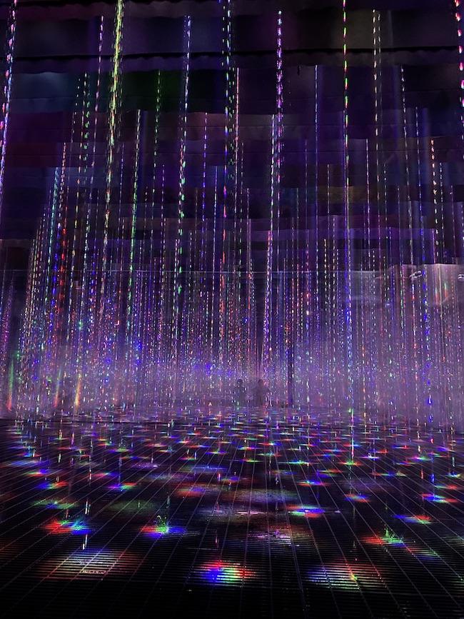 アート浴エリア『生命は結晶化した儚い光』