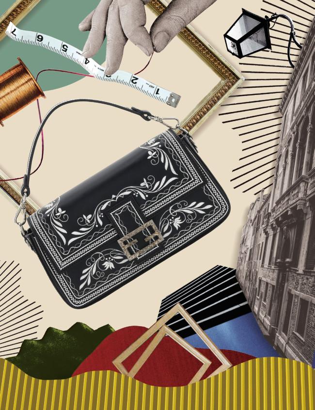 バッグ「バゲット」(W27×H15×D6cm) ¥2,475,000(予定価格)/Fendi(フェンディ ジャパン 03-3514-6187)
