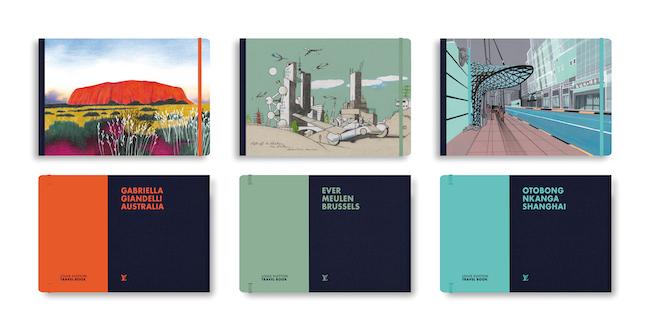 トラベルブック『オーストラリア』『ブリュッセル』『上海』 © Louis Vuitton Malletier 価格:¥5,610(税込)