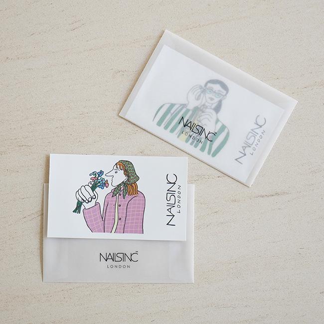 ネイルズ インク エクスプレス マニキュア チケット 1枚(1回分)¥2,530/4枚セット(4回分)¥8,800(ともに税込)