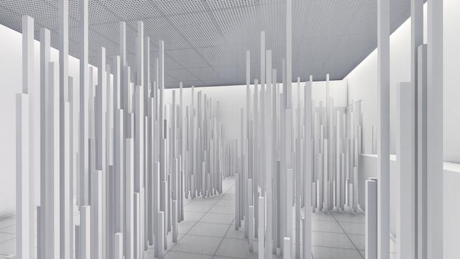 セカイ+一條、村上、アキナイガーデン『東京模型』完成イメージ図 2019 ©セカイ