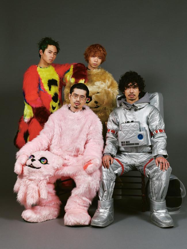 ロックバンドOKAMOTO'Sの新アーティスト写真。