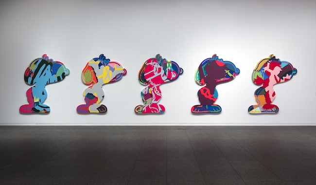 『KAWS FIVE SUSPECTS』 (2016年) © KAWS, photograph by Todora Photography LLC, Collection of Larry Warsh