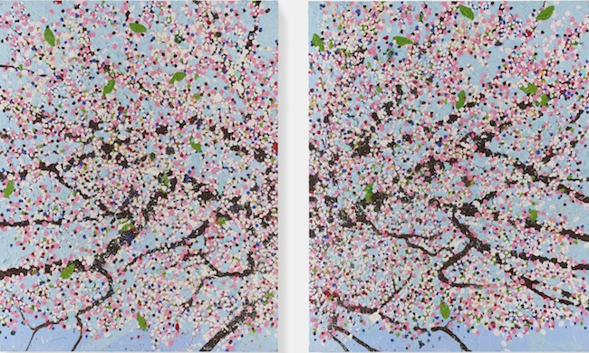 Spiritual Day Blossom, 2018 photographed by Prudence Cuming Associates. ©Damien Hirst and Science Ltd. All rights reserved, DACS 2021