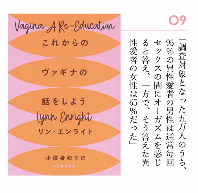 『これからのヴァギナの話をしよう』 リン・エンライト/著 小澤身和子/訳(河出書房新社)