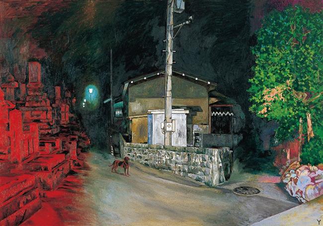 『暗夜光路 赤い闇から』2001年 東京都現代美術館