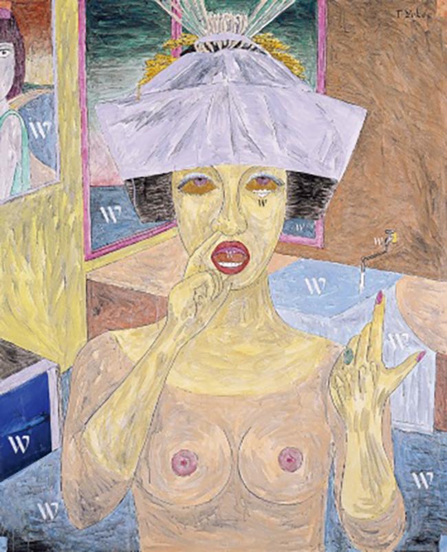 『Wの惑星』2005年 作家蔵