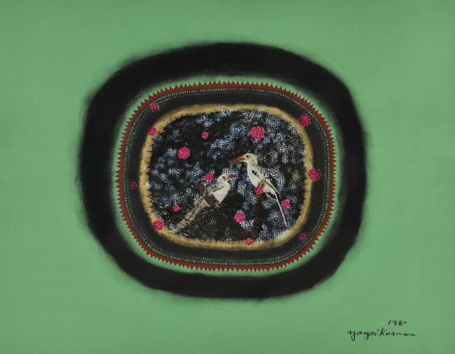 草間彌生『森の中』(1980年)© YAYOI KUSAMA Courtesy Ota Fine Arts