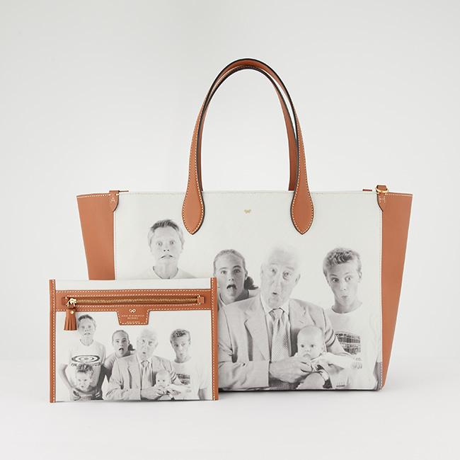 Be A Bag E/W Tote(W40xH30xD17cm)¥132,000 ※ポーチはセット