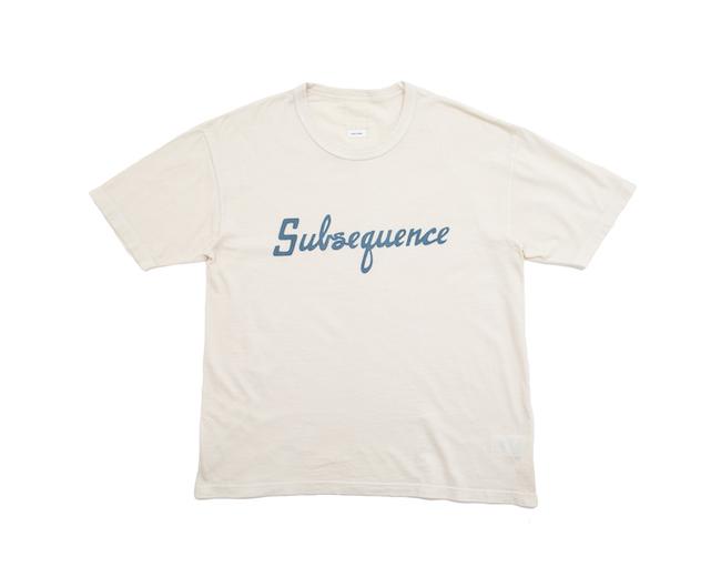 JUMBO TEE S/S VEG DYE (Subsequence) ¥30,800