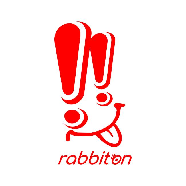 「私の推しロゴは!!エクスクラメーションマーク」から生まれたrabbitonです。私がディレクションをした子どものような存在なので、これからが楽しみです。一緒に大きく成長していこうね!!