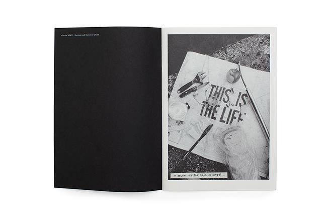 『Subsequence』vol.4 別冊付録より。スタイリスト、スティーブン・マンによる「visvim」「WMV」のファッション特集「This is the Life」。