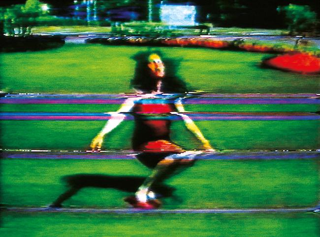 『(免罪)ピピロッティの過ち』1988年、シングルチャンネル・ヴィデオ、サウンド(11分18秒)