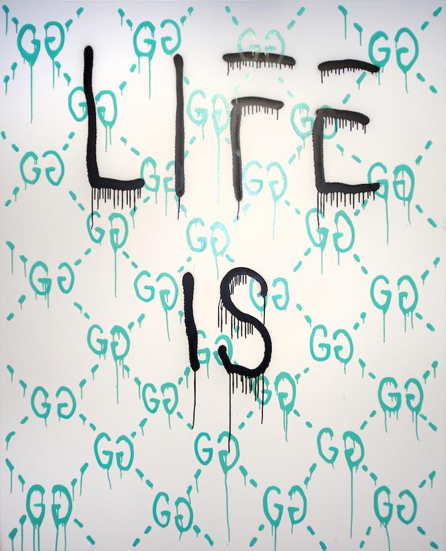 『Life is Gucci (aqua)』