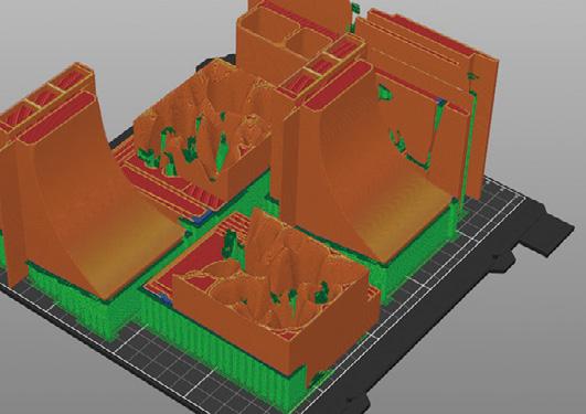 実際に作成された3Dデータ。ETH Sturm&Drang Studio AAVV. Credit: AG and Tilverka Courtesy Prada