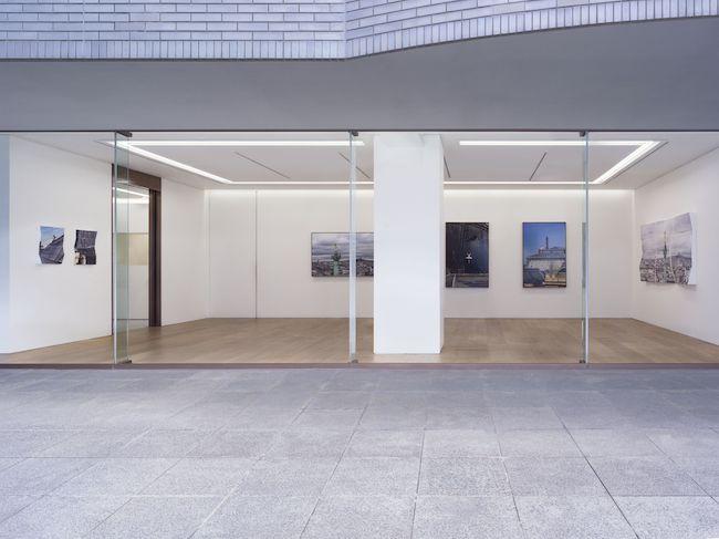 "Exhibition view of JR ""Contretemps"" at Perrotin Tokyo. Photo by Kei Okano. ©JR / ADAGP 2021. Courtesy of the Artist & Perrotin"