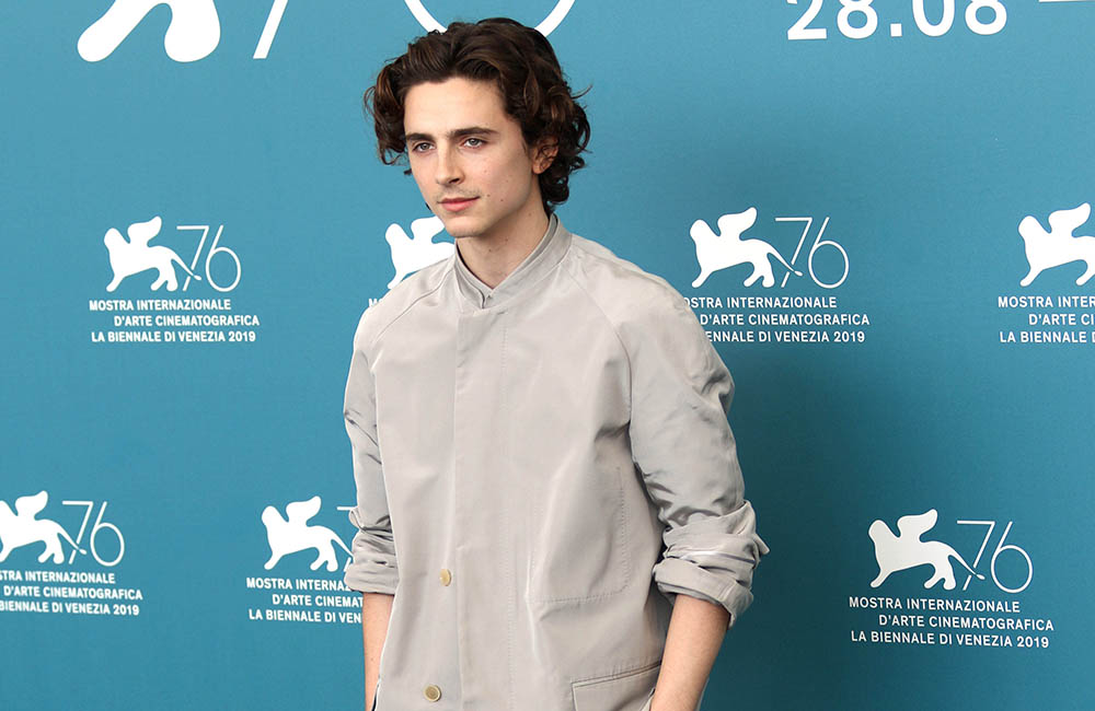 Timothee Chalamet at 76th Venice Film Festival